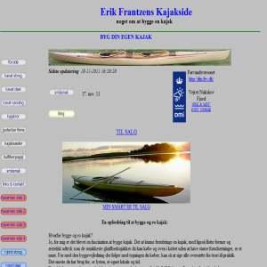 Erik Frantzens Kajakside