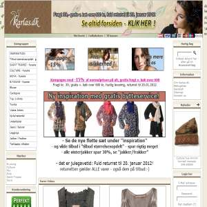 Karlas.dk - modet�j til kvinder