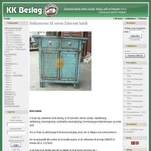 KK Beslag - Antik og M�belbeslag - Alt i Beslag