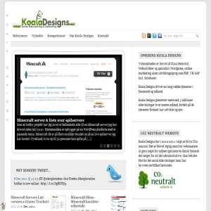 Webudvikling - Optimering & SEO ved Koala Designs