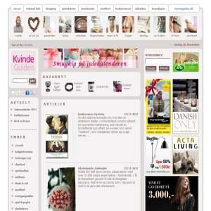 KvindeGuiden.dk, Onlinemagasinet
