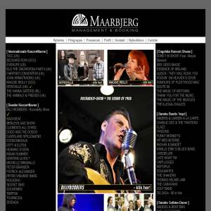 Musikbooking - Maarbjerg Management