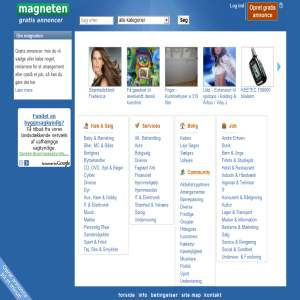 Magneten - Gratis annoncering