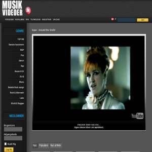 Musikvideoer.dk