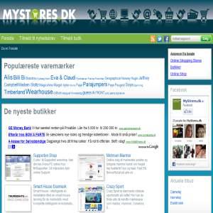 MyStores.dk - Guide til online butikker