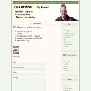 PC & Økonomi bogføring