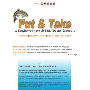 Put & Take Søer i Danmark