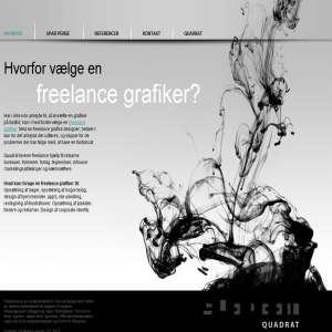 Freelance grafiker - grafisk design - webdesign - bogomslag