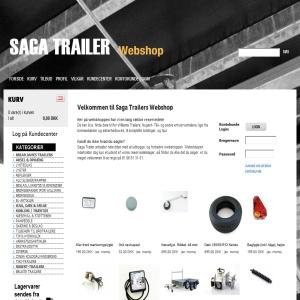 Saga Trailer Webshop