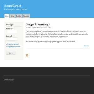 SangogKlang.dk - Få en festsang