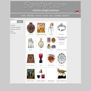 auktionshuset Scandiart