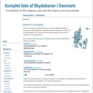 Komplet liste af paintball baner i Danmark