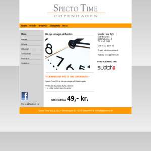 Specto Time - urmager p� �sterbro