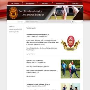 Svanholm Cricket klub