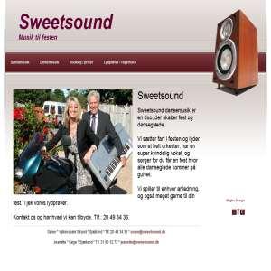 Musik til fest med Sweetsound partyduo