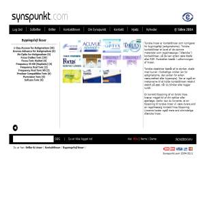 Solbriller - Synspunkt.com