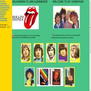 Rolling Stones og T�ndstik�sker / etiketter