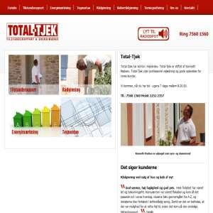 Total-tjek -  specialister i tilstandsrapporter, energimærkning & køberrådgivning