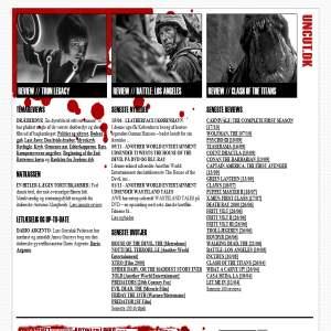 Uncut.dk - genrefilm webzine