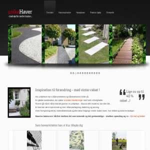 Unika havedesign og haveindretning. fotogalleri, artikler, links og