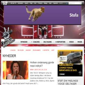 Voice - Danmarks st�rste stemme - TV2