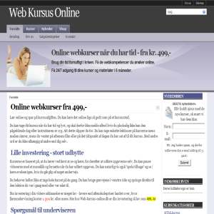 Web Kursus Online