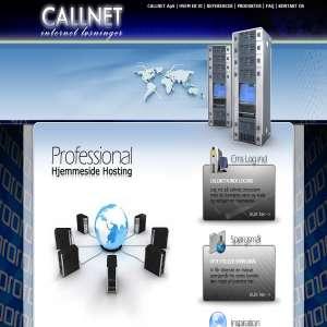 Callnet Professionelt hjemmeside design