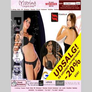 (Y)string lingerie shop