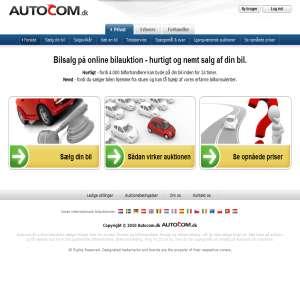 Bilsalg p� bilauktion - Autocom.dk