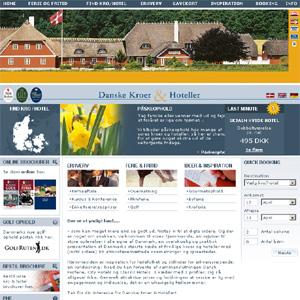 Danske Kroer & Hoteller   Kro & Hotel   Fritid & Rejser   Hjemmesiden er inspiration for ...