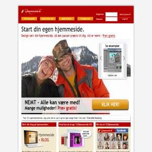 123Hjemmeside.dk - Prøv GRATIS nu
