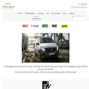 Billig udlejning af varevogne