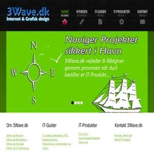 3Wave Internet & Grafisk design