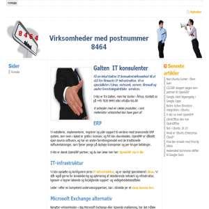 Virksomheder fra 8464, Galten-Skovby