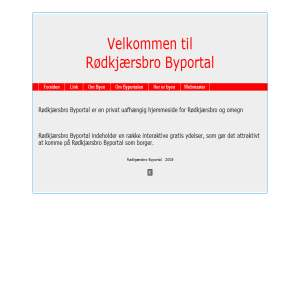 Rødkjærsbro Byportal 8840