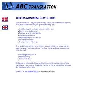 ABCtranslate - oversættelser