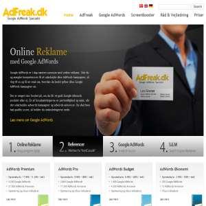 Google adwords firma - AdFreak.dk