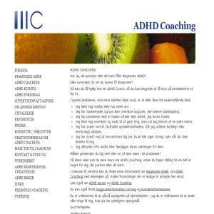 ADHD Coaching ved Anders Rønnau