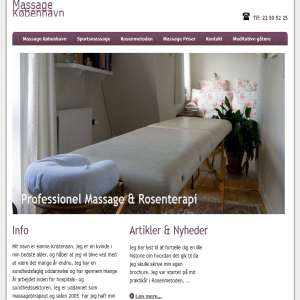 bedste massage i københavn thai massage kolding