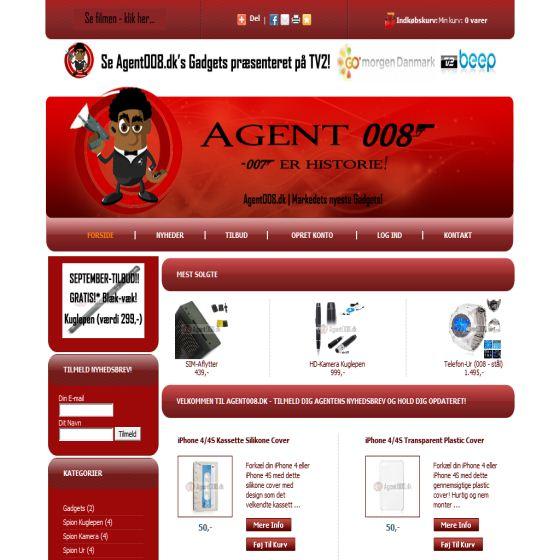 Gadgets - agent008.dk