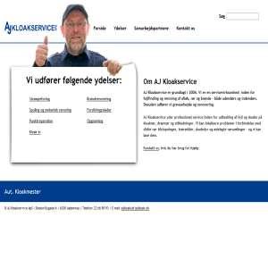 AJ Kloakservice. Aut. kloakmester i sønderjylland