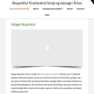 Akupunktur Kraniosakral terapi og massage i Århus