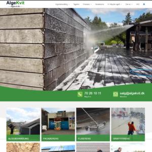 Algekvit - Prisgaranti på rens af alger