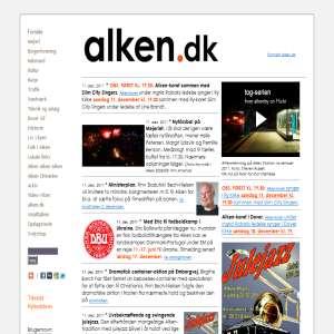 Alken.dk - ved Mossø