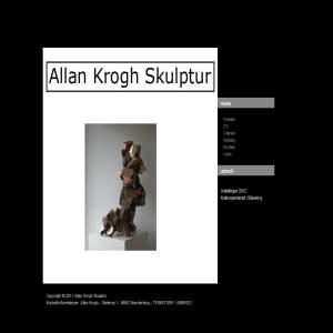 Allan Krogh Skulptur