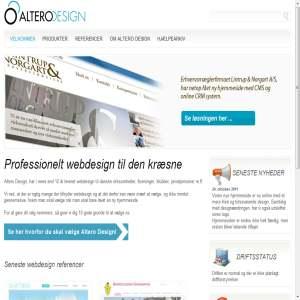 Professionelt webdesign og CMS løsninger