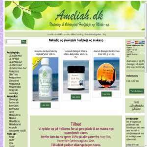 Naturlig og økologisk hudpleje og make-up