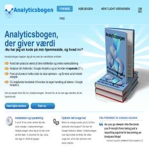 Google Analytics bog på dansk