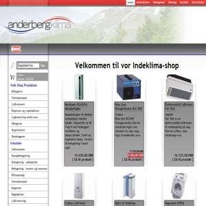 Anderberg Klima Webshop