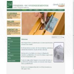 Tømrer & Snedkerfirma Anders Nørgaard Andersen ApS